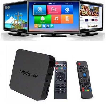 125f7665f9086 ... Smart Tv Otto Box 4K Android Tv Quad Core Mxq. - Imagem 4 ...