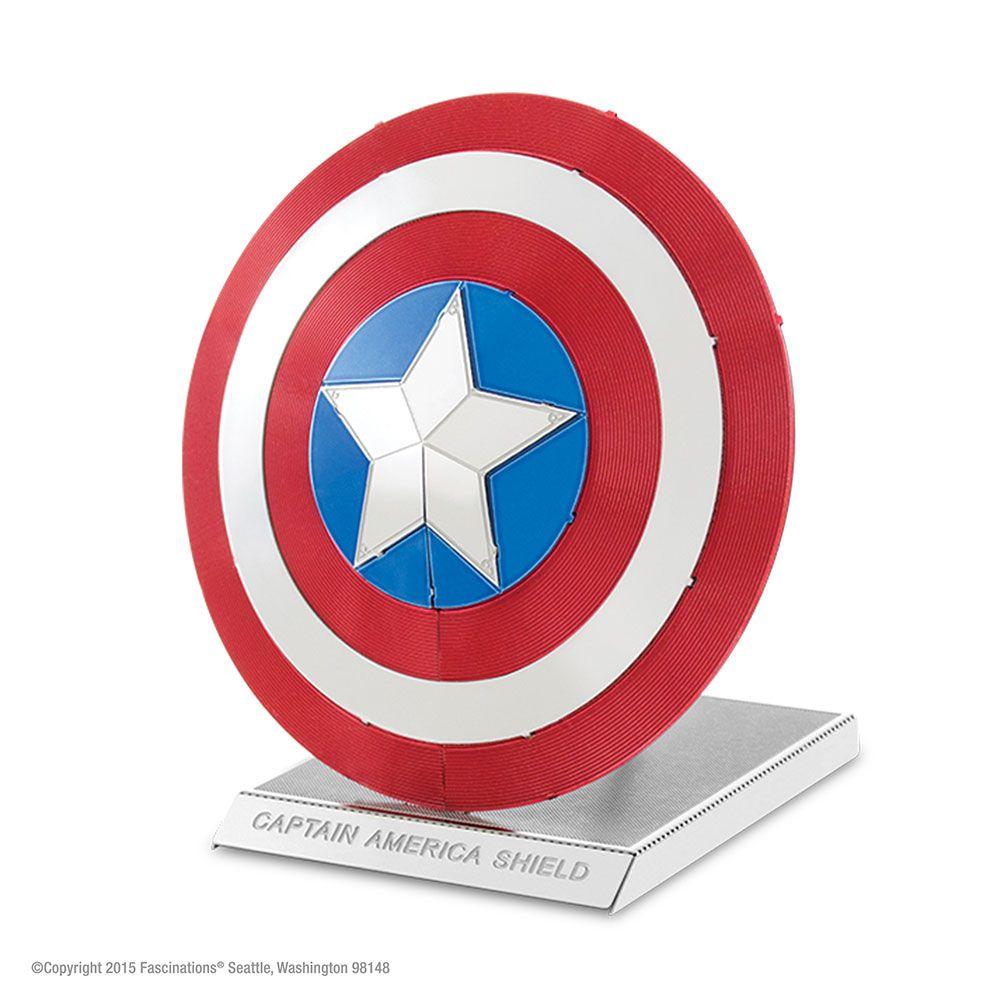 Mini Replica De Montar Marvel Escudo Capitao America Beek Geek S