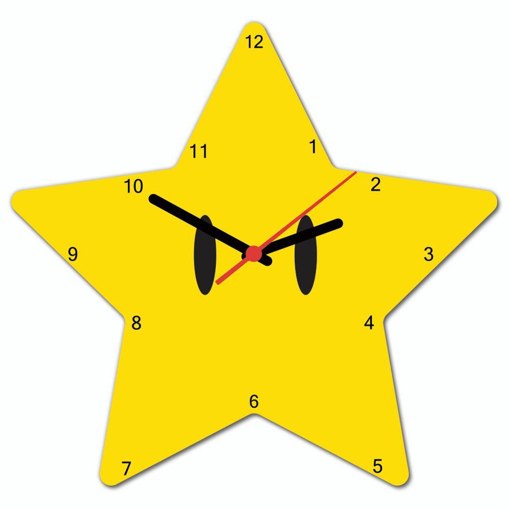 7a7fd26d5dc Relógio de Parede Beek SUPER ESTRELA - Beek Geek s Stuff