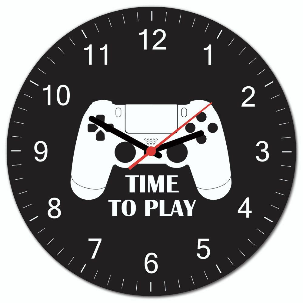 08cf3331b7a Relógio de Parede Beek Gamer PS - Beek Geek s Stuff