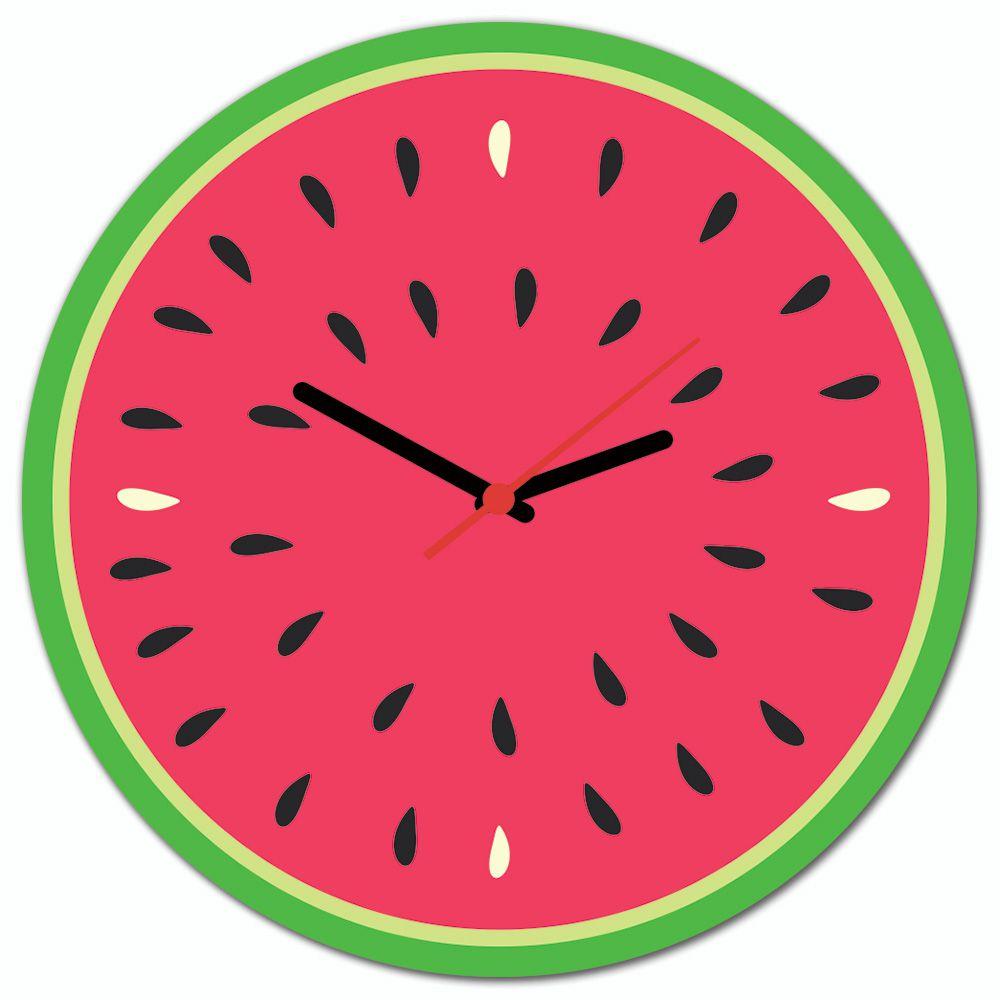 54d589a5cf5 Relógio de Parede Beek MELANCIA - Beek Geek s Stuff