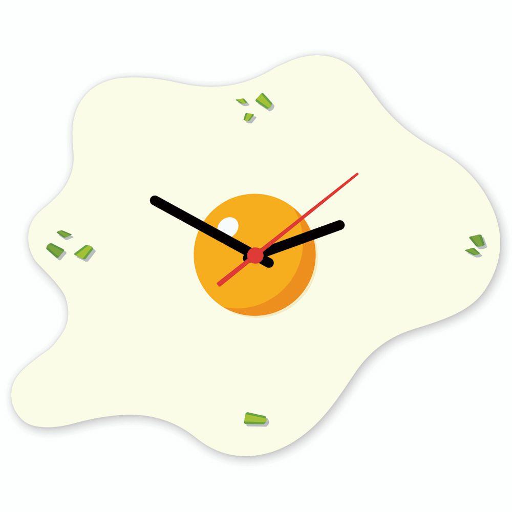 9401ec2ea04 Relógio de Parede Escura Beek OVO FRITO - Beek Geek s Stuff