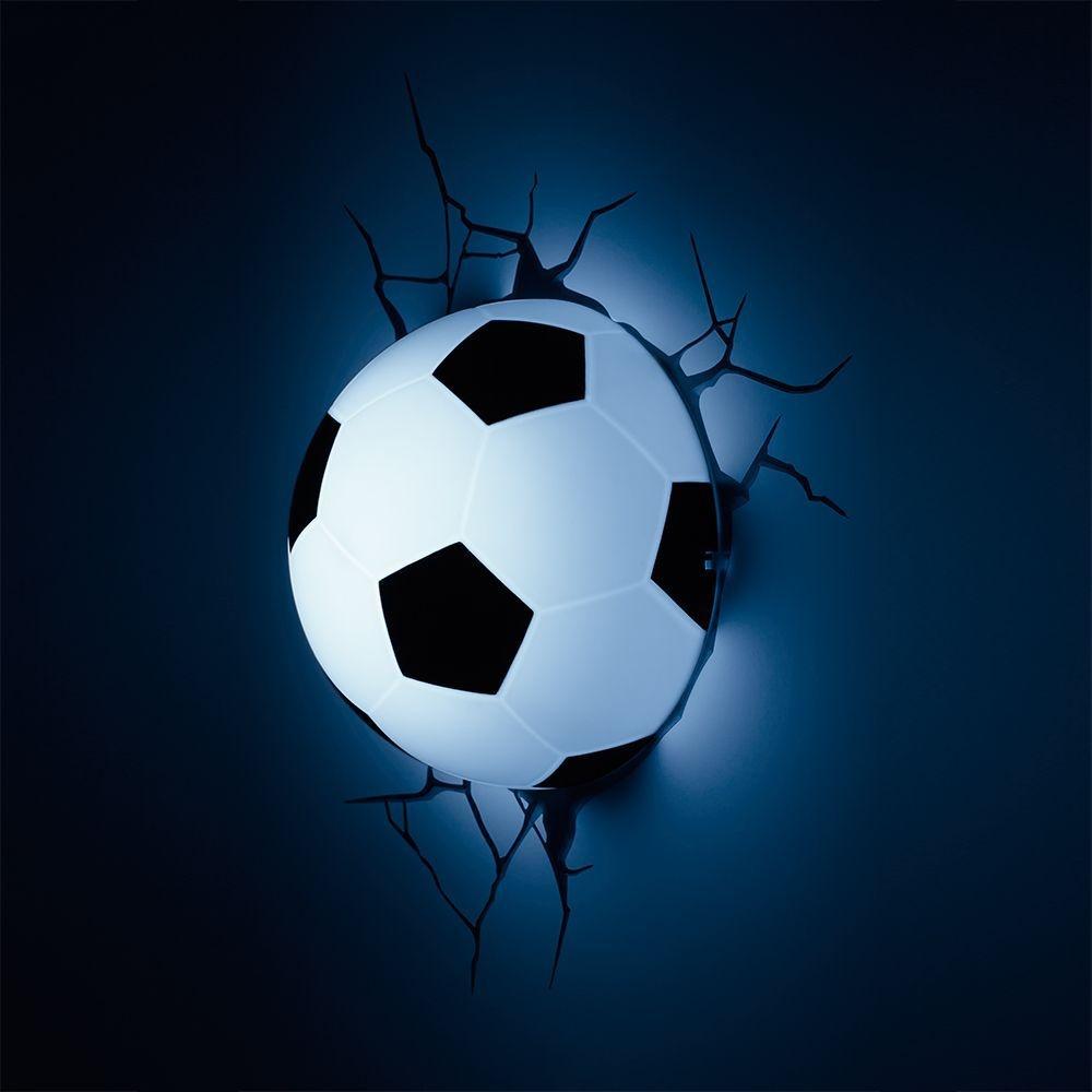 Luminária 3D Light FX Bola de Futebol - Beek Geek s Stuff f7ee7e1140871