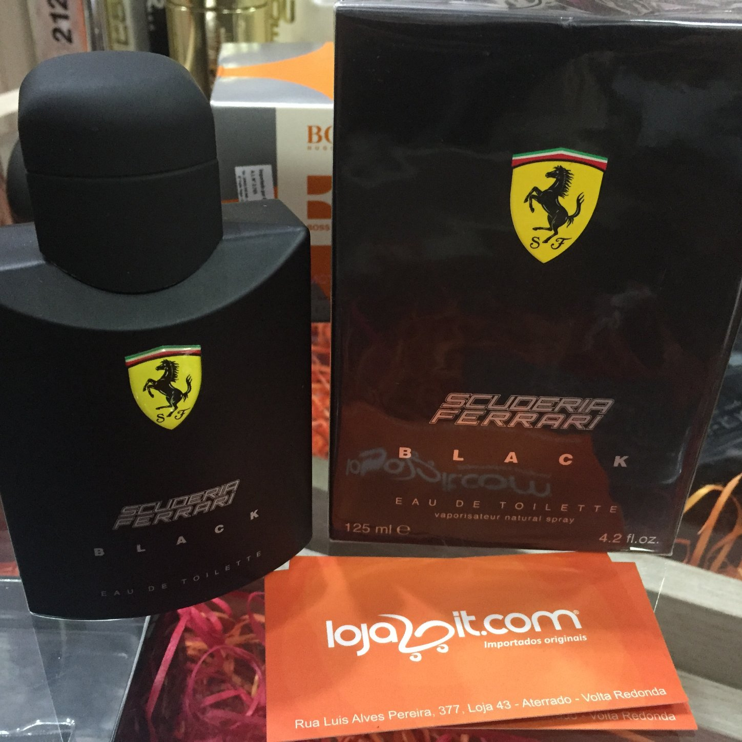 perfume ferrari black 125ml