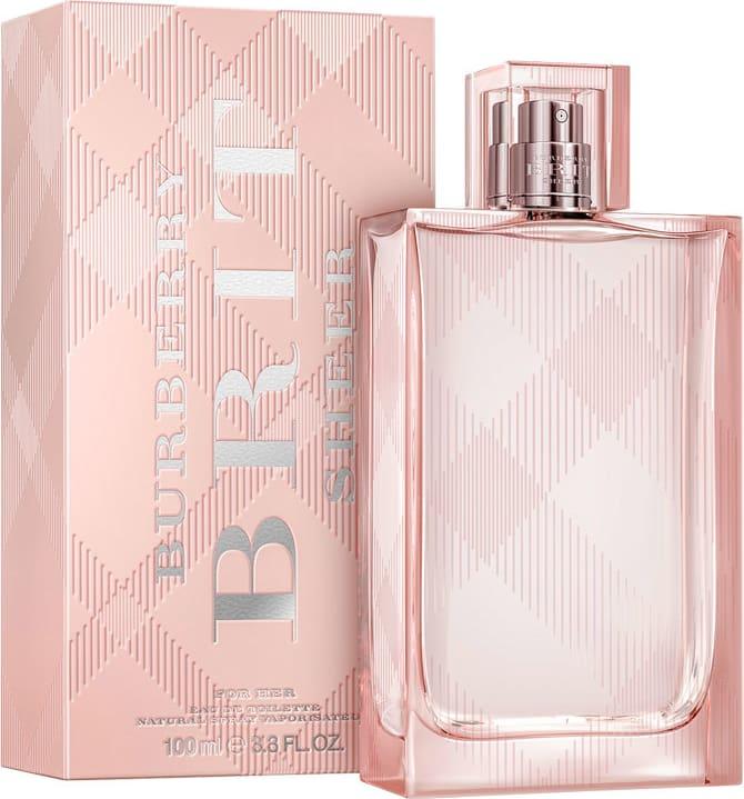 Burberry Brit Sheer Edt 100ml Perfume Importado Original Feminino