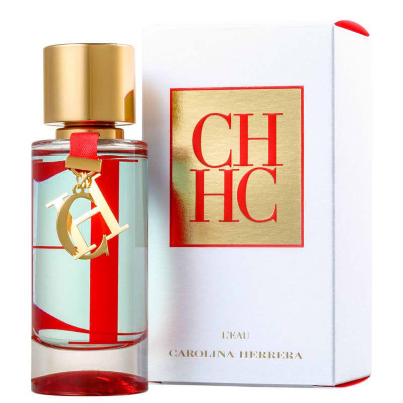 CH Leau Edt 100ml Carolina Herrera Perfume Importado Original Feminino