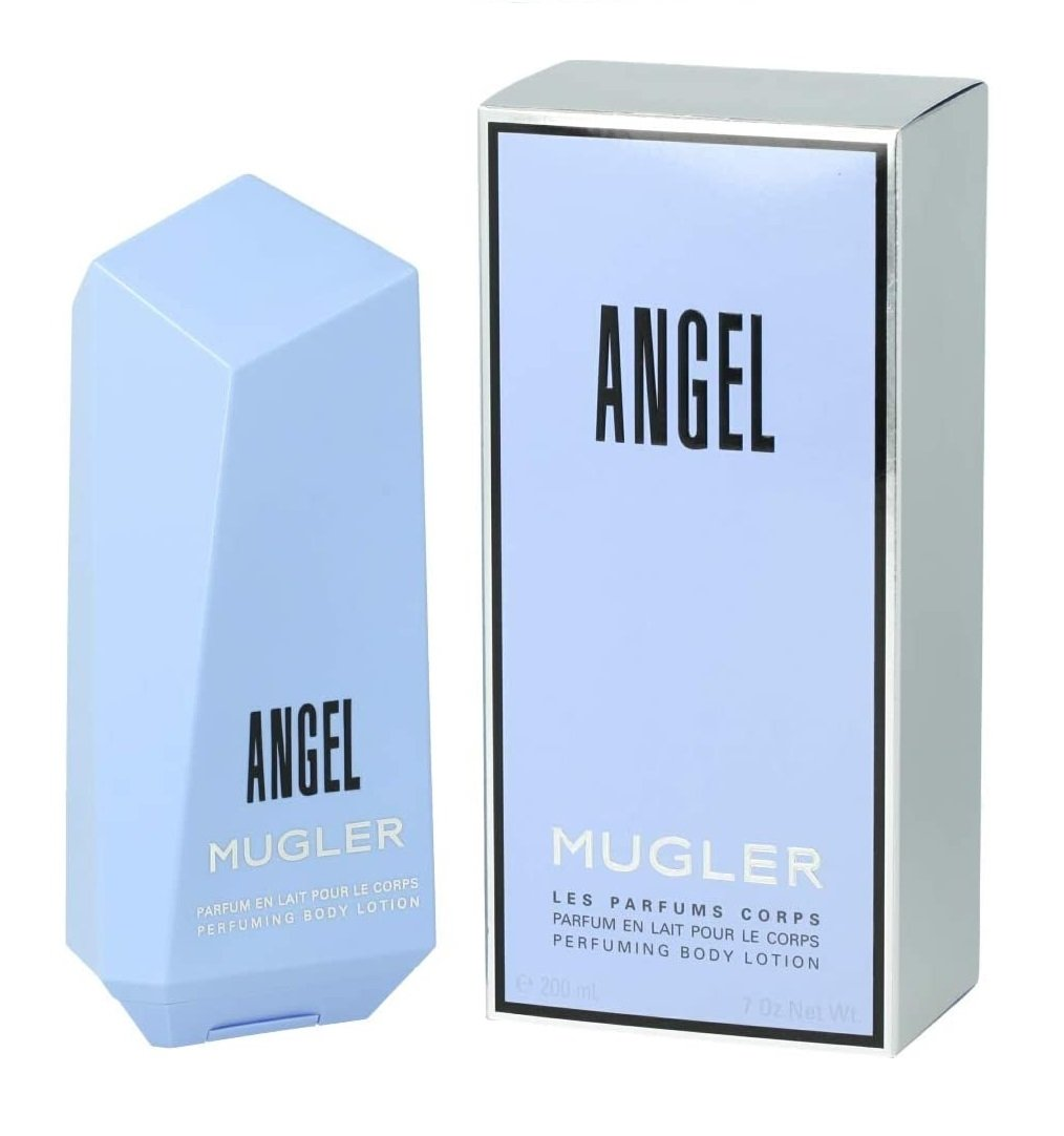 Creme Angel 200ml Hidratante Loção Thierry Mugler Original Feminino