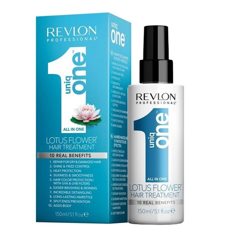 Creme Leave In Uniq One Lotus Flower 150ml Tratamento Capilar - Revlon Professional