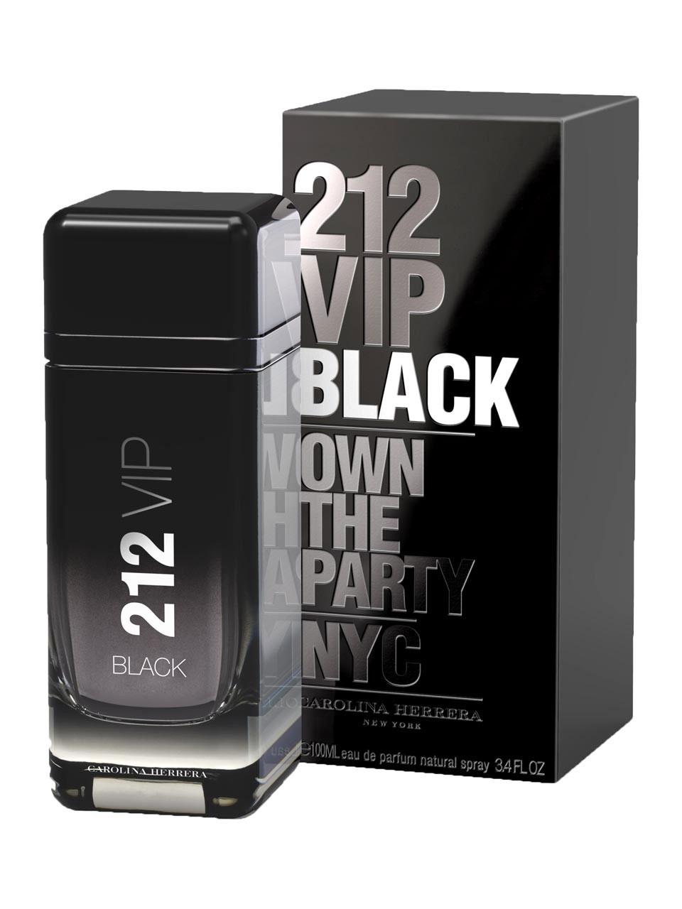 Perfume Importado 212 Vip Black Edp 200ml - Carolina Herrera Masculino