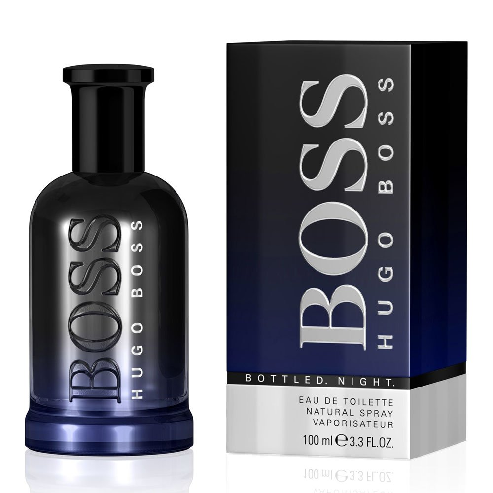 Perfume Bottled Night Hugo Boss Eau De Toilette Masculino 100 Ml