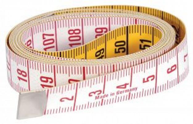 Fita métrica para tirar as medidas de sua princesinha e adquirir o melhor vestido com o melhor caimento
