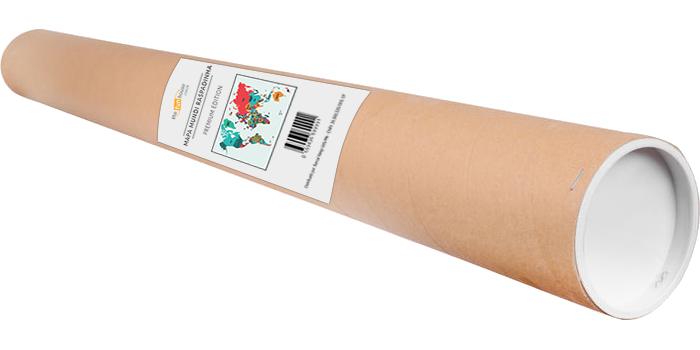 Mapa Mundi Raspadinha em sua embalagem