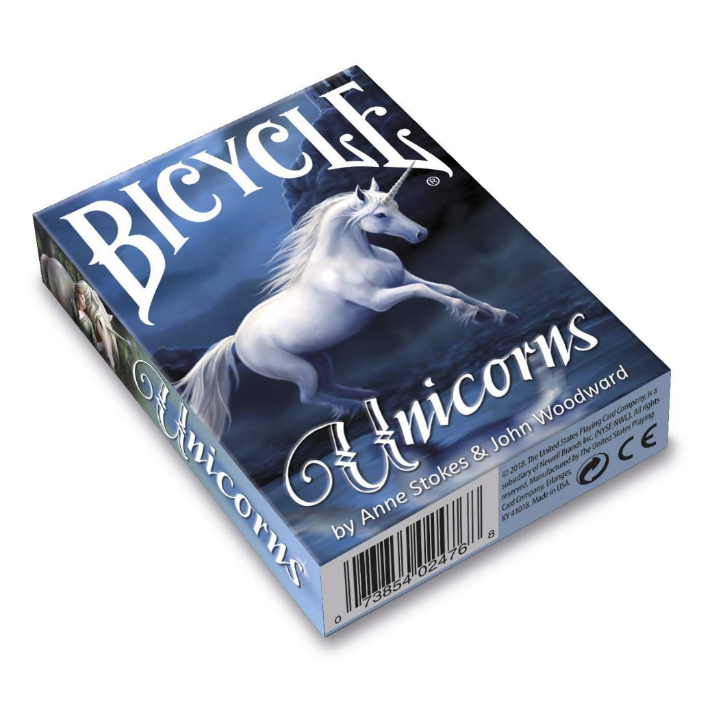 Baralho Bicycle Unicorns Anne Stokes