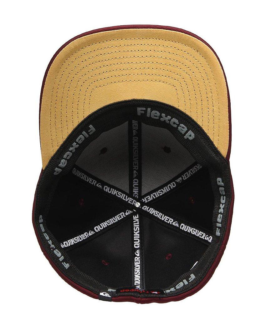 Boné Quiksilver Logo Bordado Cap Vinho - Radical Place - Loja ... 3e9d116c761