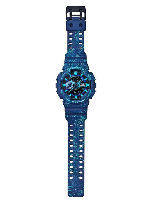 6ade6b49403 Relógio G-Shock GA-110TX Azul - Radical Place - Loja Virtual de ...