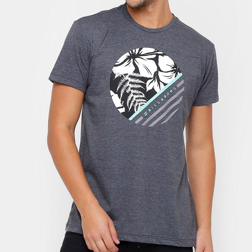 Camiseta Billabong Reminder Cinza Escuro - Radical Place - Loja ... 7c8ca2f391d