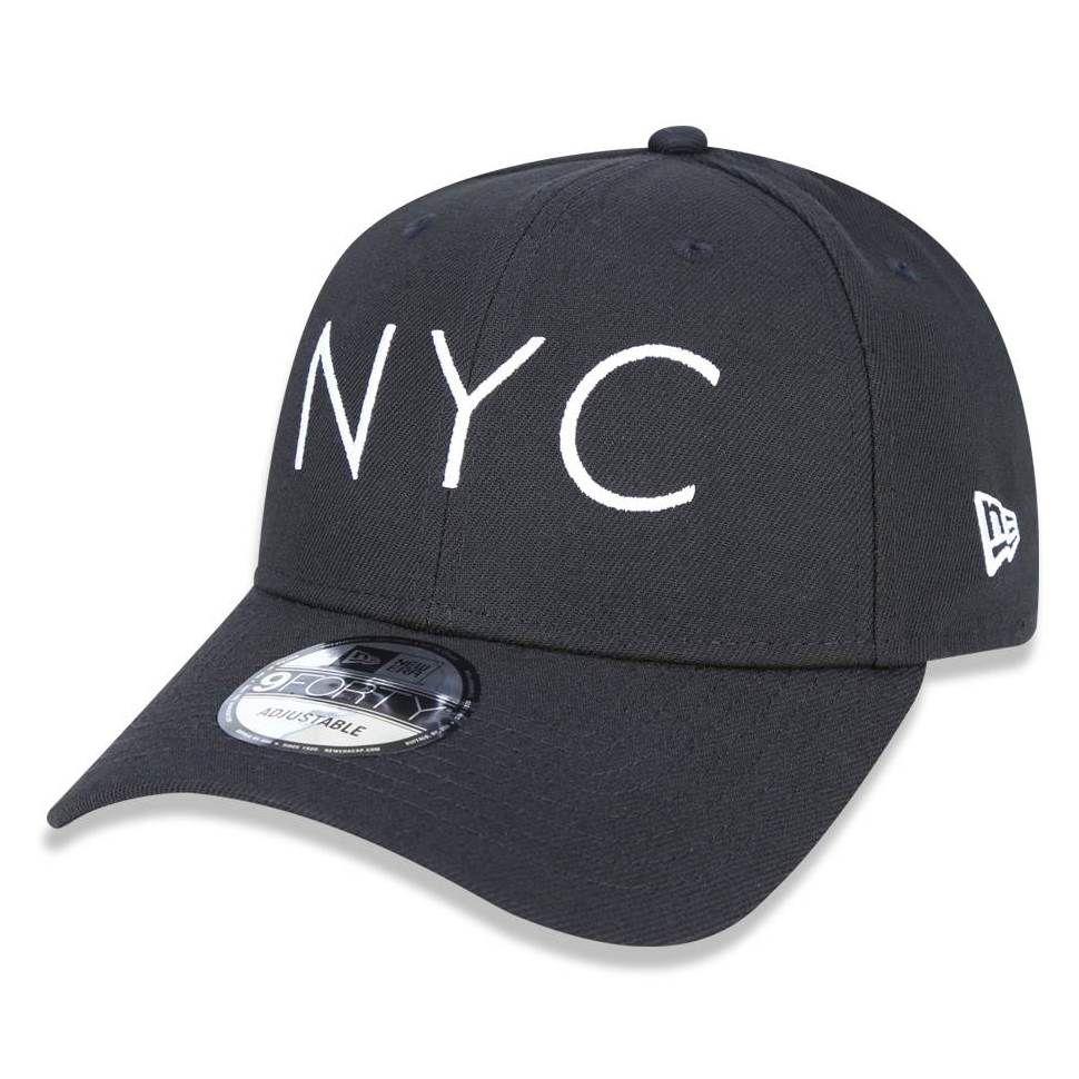 Boné New Era 940 NYC Preto - Radical Place - Loja Virtual de ... 223d1a447ce