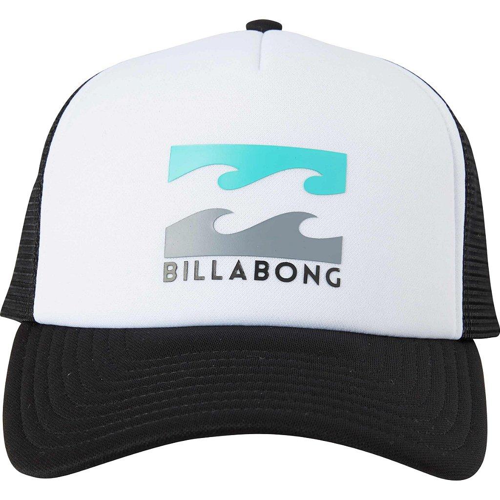 Boné Billabong Podium Trucker Branco Preto - Radical Place - Loja ... b210a9f7010