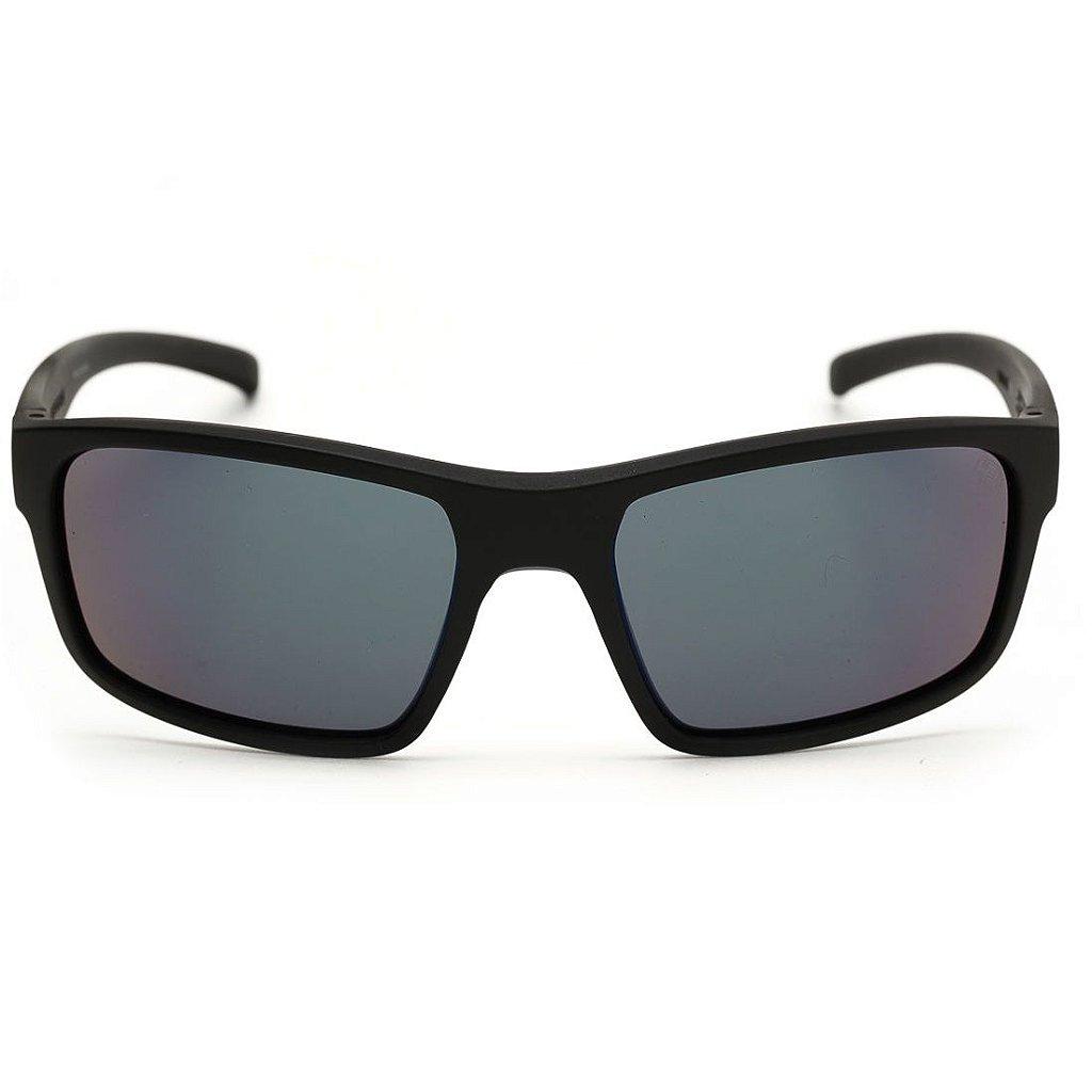 ... Óculos de Sol HB OverKill Matte Black   D Blue   Blue Chrome - Imagem 3  ... a847fe3c68