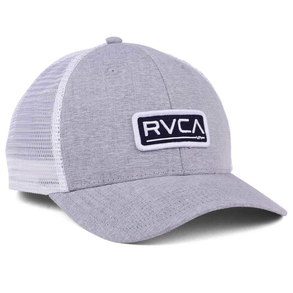 outlet store c86ac 4498c ... Boné RVCA Snap Ticket Hat Truck Cinza Branco - Imagem 4 ...