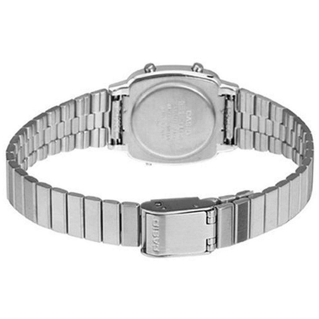 97151dcce70 Relógio Casio Vintage LA670WA-7DF Prata - Radical Place - Loja ...