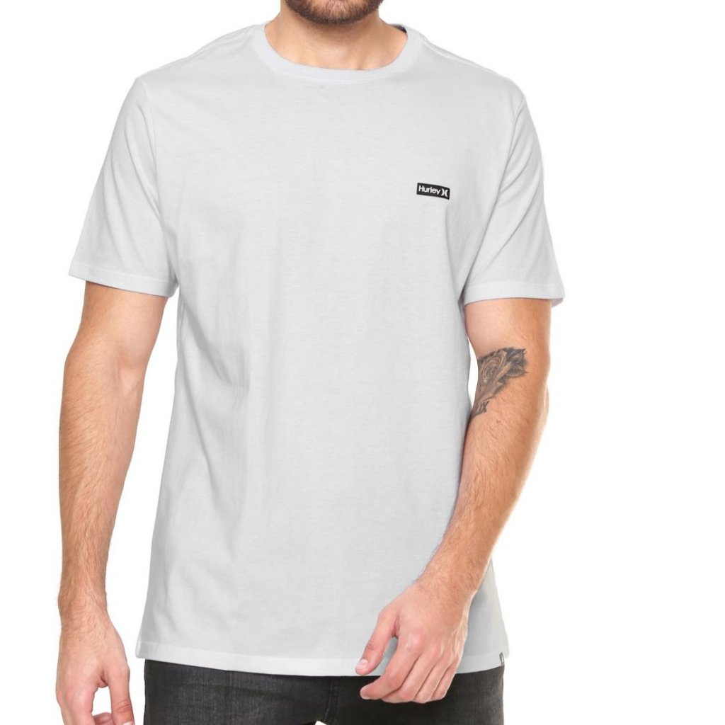 Camiseta Hurley Silk Basic Branca - Radical Place - Loja Virtual de ... 9b1918da2df