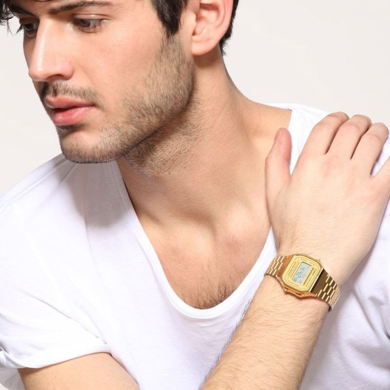 0c968387346 Relógio Casio Vintage A168WG-9WDF-BR Dourado - Radical Place - Loja ...