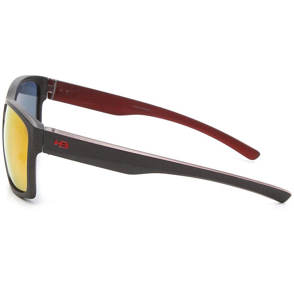 07af89192 ... Óculos de Sol HB Freak Matte Graphite On Marsala   Red Chrome - Imagem  2 ...