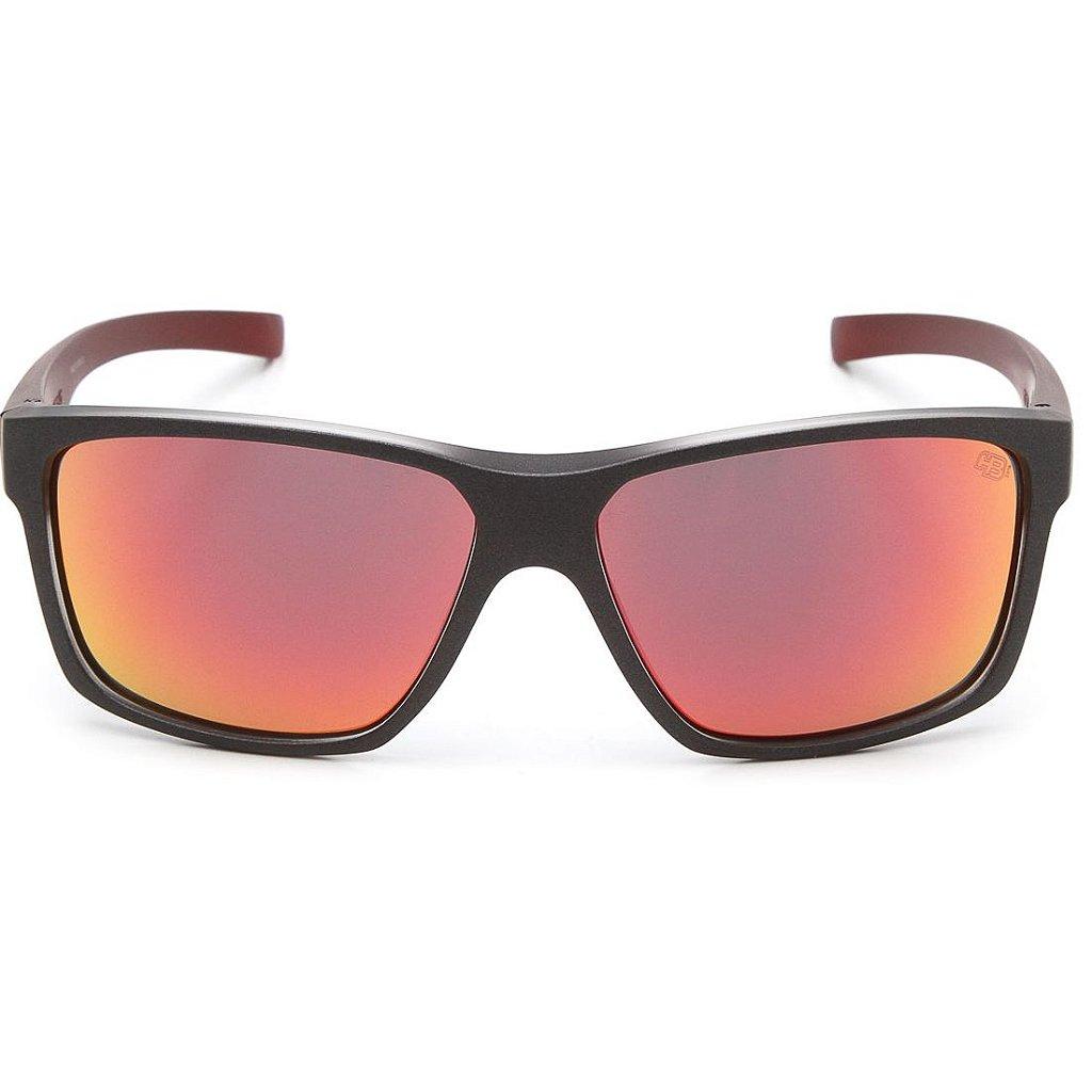 16b41e247 ... Óculos de Sol HB Freak Matte Graphite On Marsala   Red Chrome - Imagem  3 ...