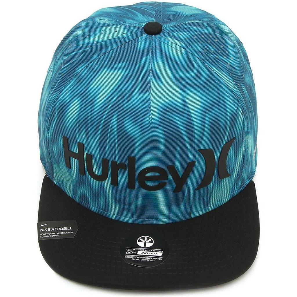 Boné Hurley Water Dri Fit Azul - Radical Place - Loja Virtual de ... 50aa18972cb