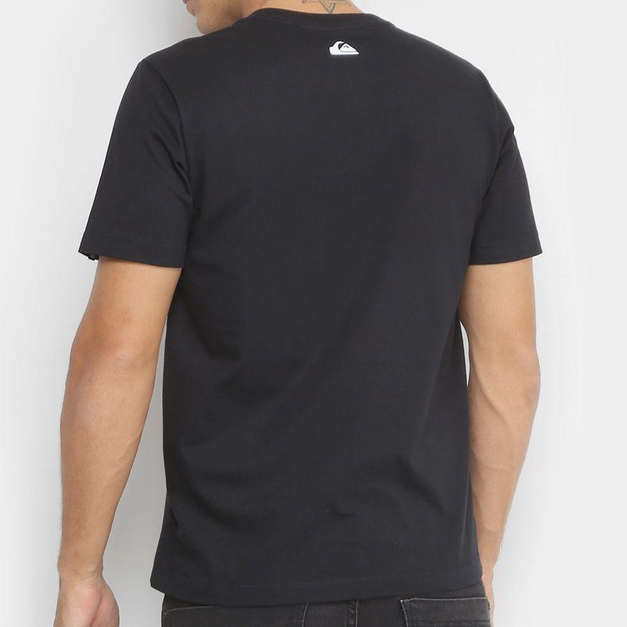 d3d4541270ff6 Camiseta Quiksilver Reverso Surfo Preta - Radical Place - Loja ...