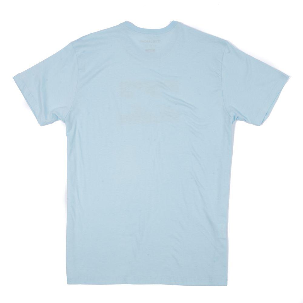 Camiseta Billabong Team Wave V Azul Claro - Radical Place - Loja ... 037f77d8c979