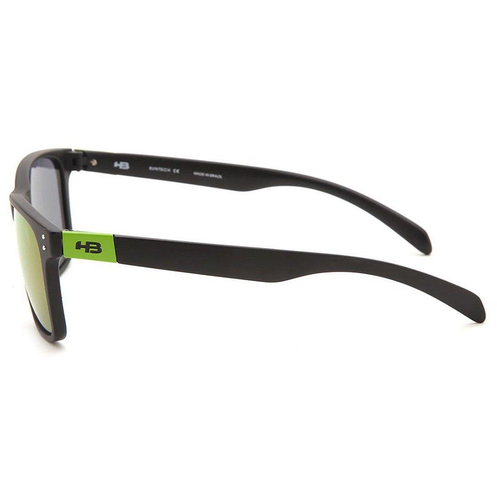 99f7c7c6e ... Óculos de Sol HB Gipps II Matte Black Dark Green l Green Chrome -  Imagem ...