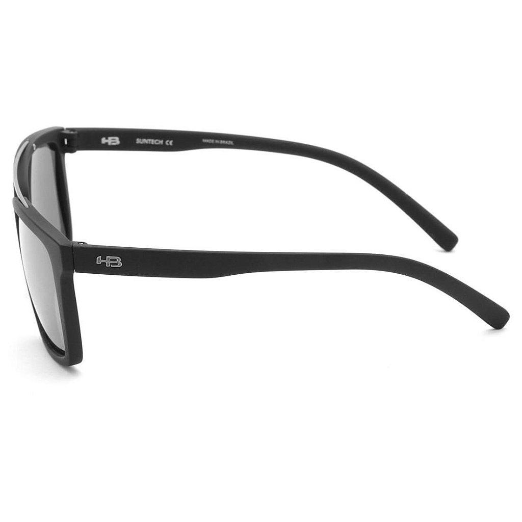 96bfe208923a0 Óculos de Sol HB Spencer Matte Black   Silver - Radical Place - Loja ...