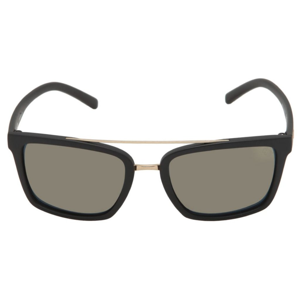 Óculos de Sol HB Spencer Matte Black   Gold Chrome - Radical Place ... 3b7f4d364f