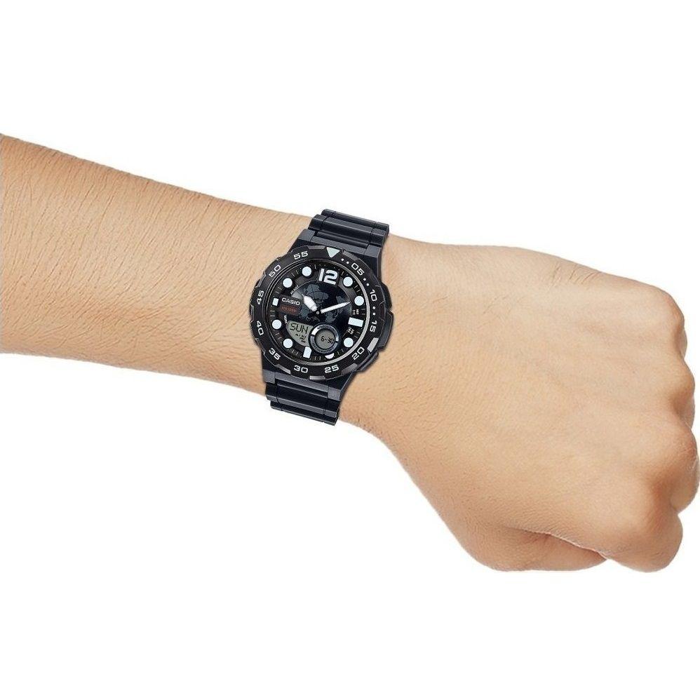 059b6925202 Relógio Casio Standard AEQ-100W-1AVDF Preto - Radical Place - Loja ...