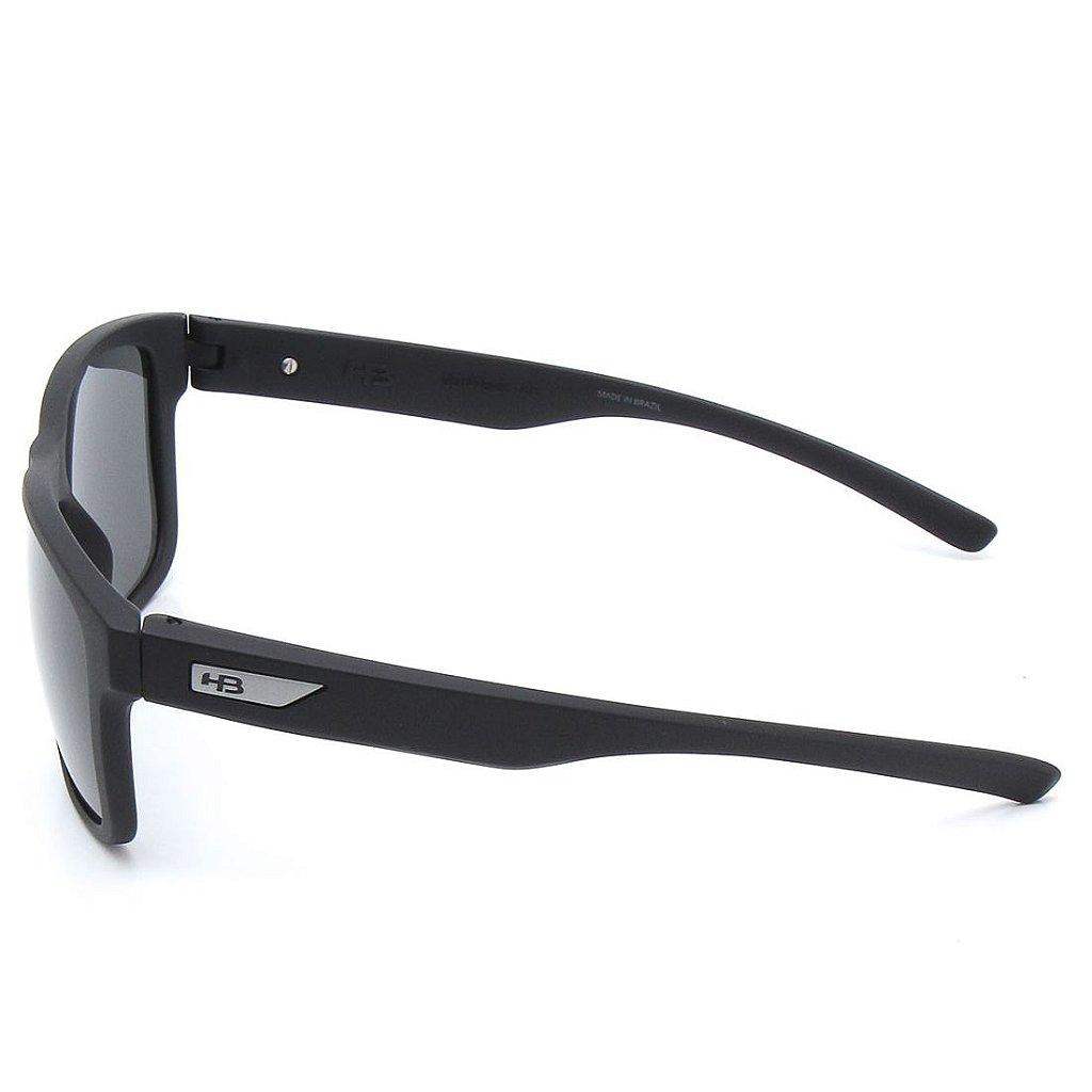 de16281adfdf3 Óculos de Sol HB H-Bomb Matte Black   Gray Polarized - Radical Place ...