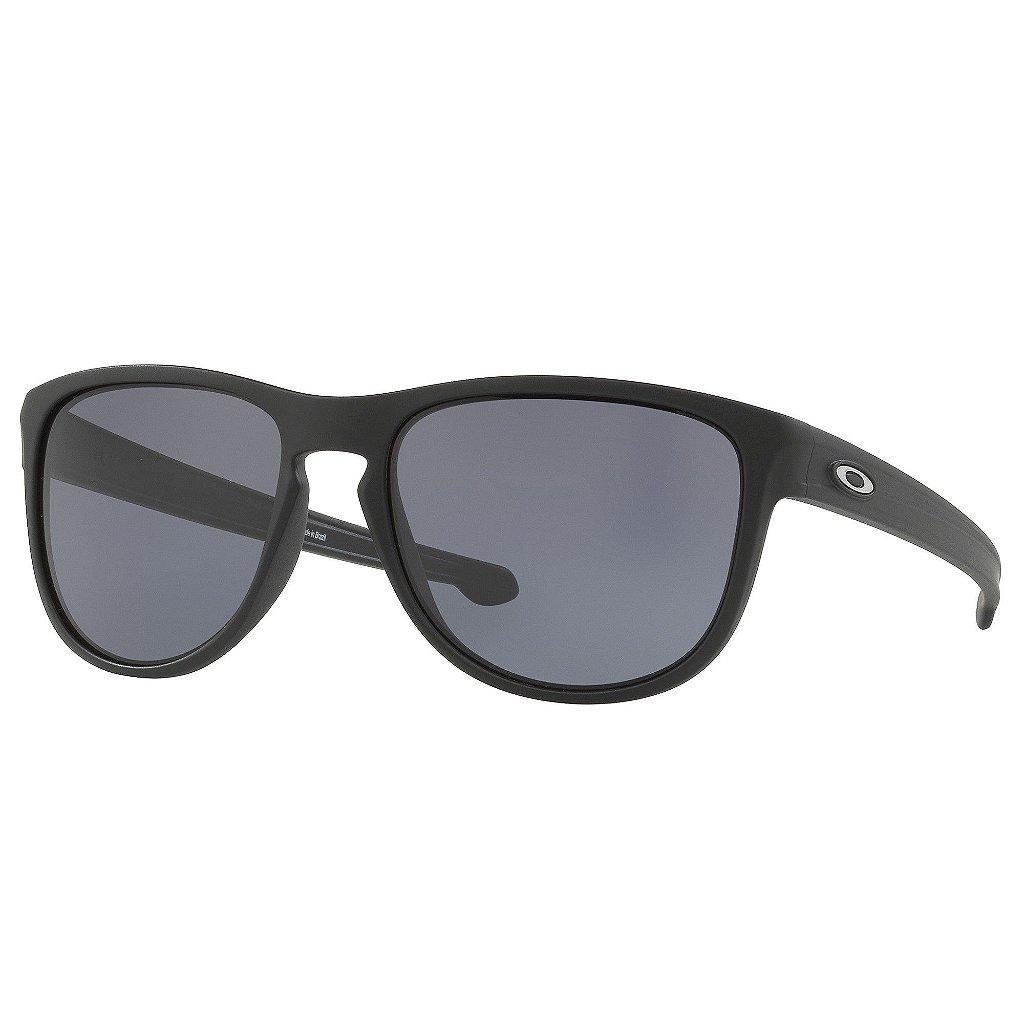 69ec09b31 Óculos de Sol Oakley Sliver R Matte Black W/ Grey - Radical Place ...