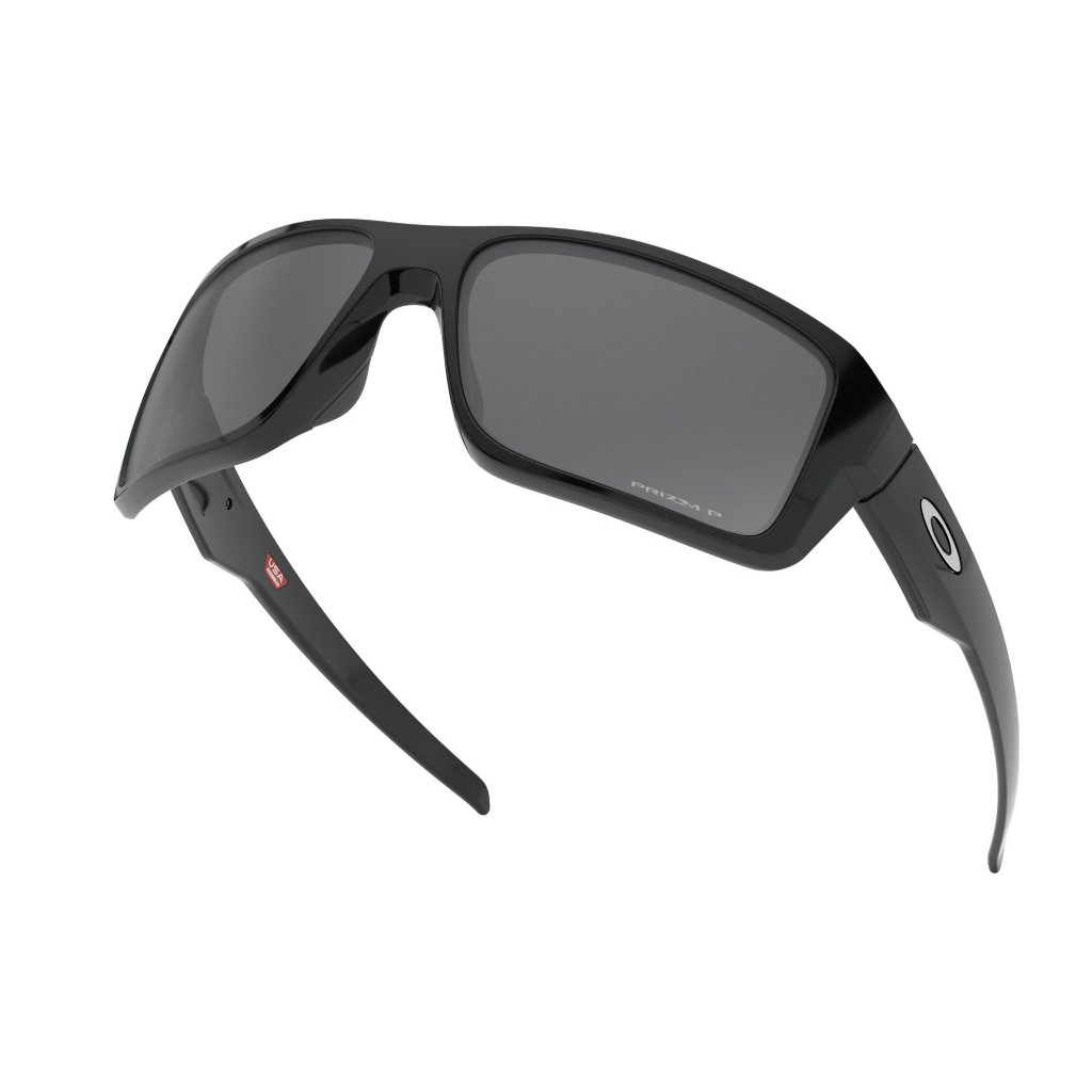 904c516e12 ... Óculos de Sol Oakley Double Edge Polished Black W/ Prizm Black  Polarized - Imagem 5