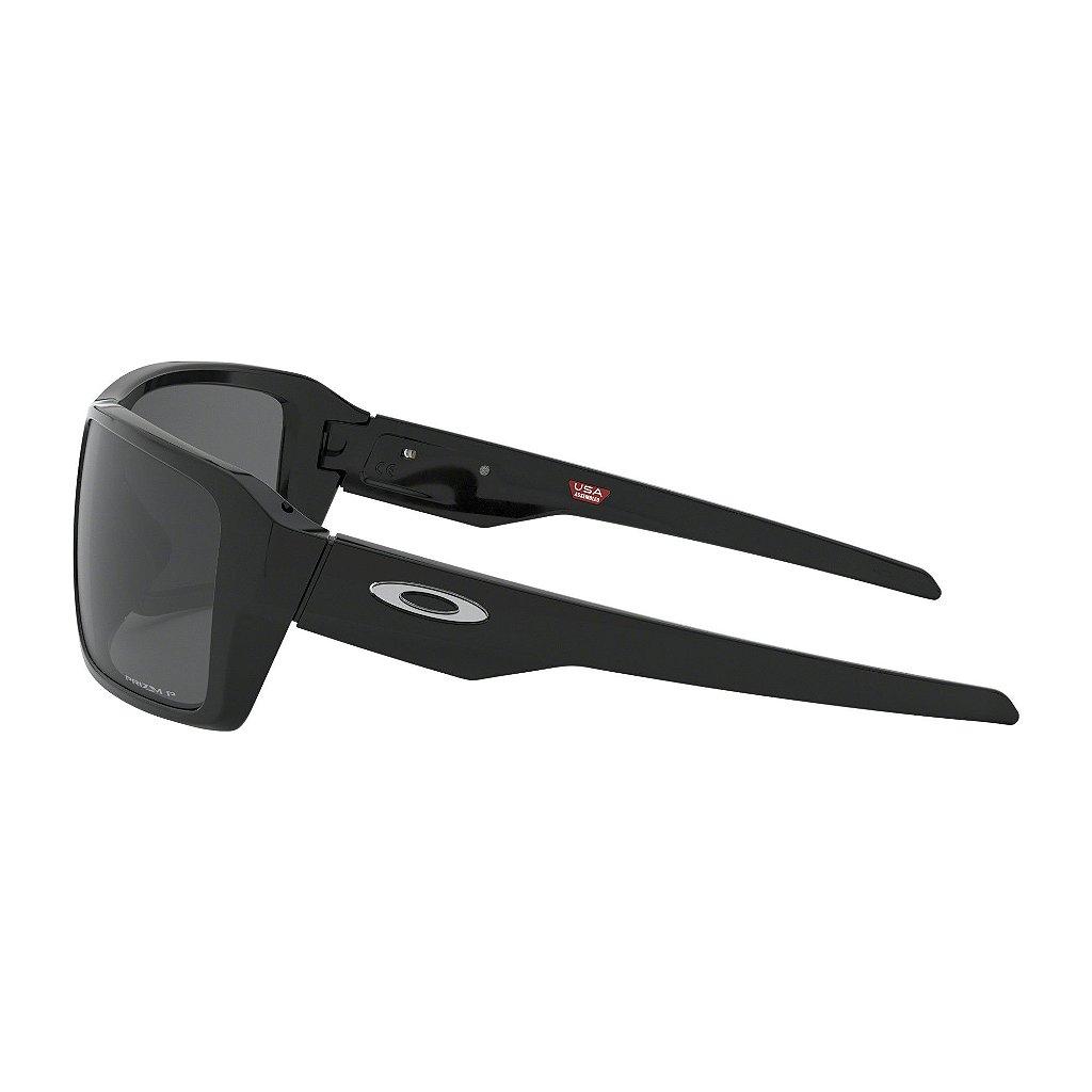 e6d6361d3 ... Óculos de Sol Oakley Double Edge Polished Black W/ Prizm Black Polarized  - Imagem 4 ...
