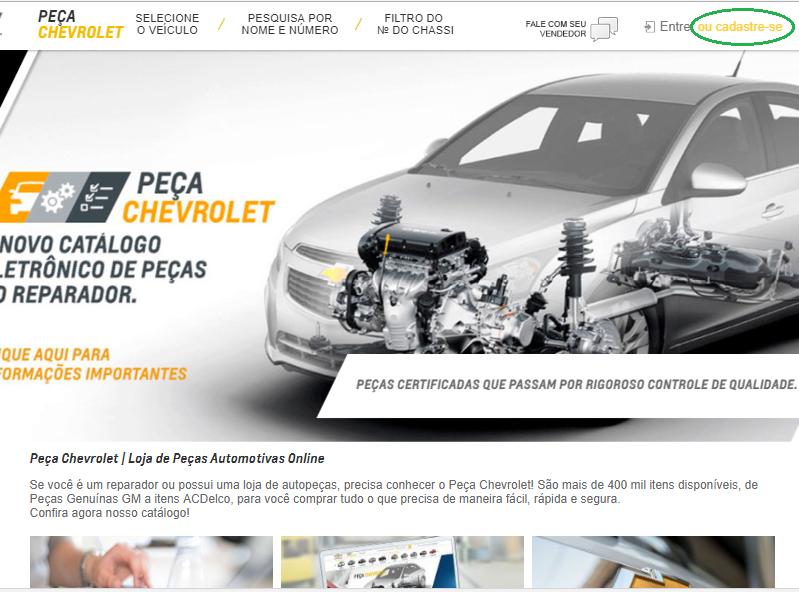 Catalogo Eletronico Gmv Pecas Chevrolet
