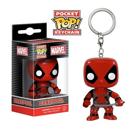 Chaveiro Funko Pocket Pop Brasil - Marvel - Deadpool