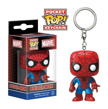 Chaveiro Funko Pocket Pop Brasil - Marvel - Spiderman