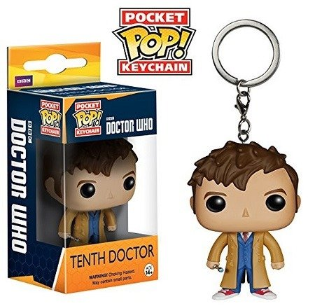 Chaveiro Funko Pocket Pop Brasil - Doctor Who - Dr #10
