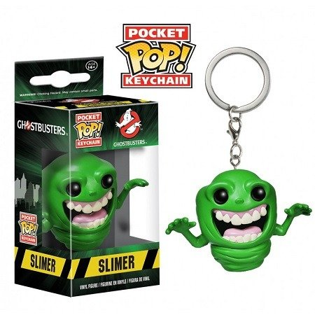 Chaveiro Funko Pocket Pop Brasil - Ghostbusters - Slimer