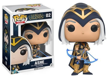 Bonecos Funko Pop Brasil - League of Legends - Ashe