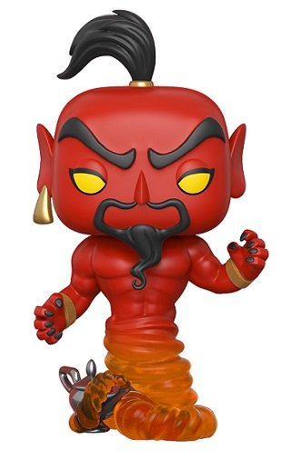 Bonecos Funko Pop Brasil - Disney - Aladdin - Red Jafar
