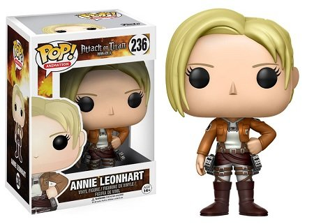 Bonecos Funko Pop Brasil - Attack on Titan - Annie Leonhart