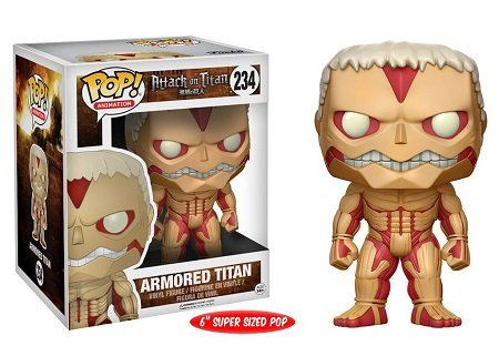 Bonecos Funko Pop Brasil - Attack on Titan - Armored Titan