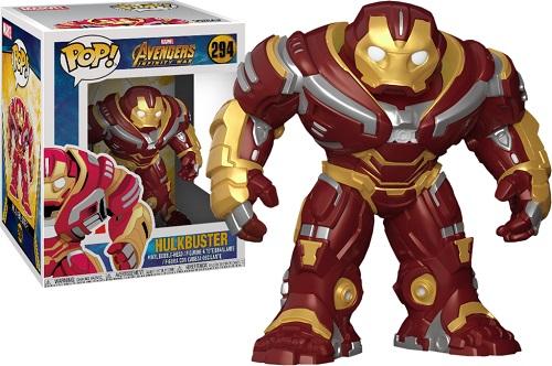 Bonecos Funko Pop Brasil - Marvel - Infinity War - Hulkbuster